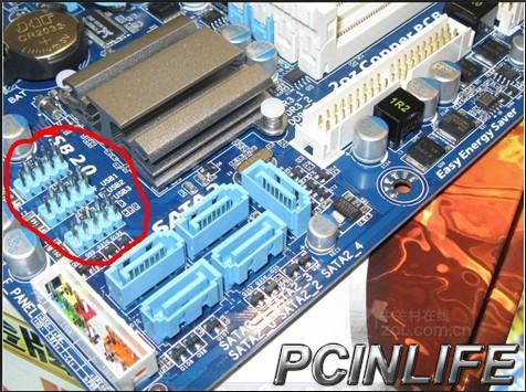 请教技嘉880gm-ud2h主板接线问题