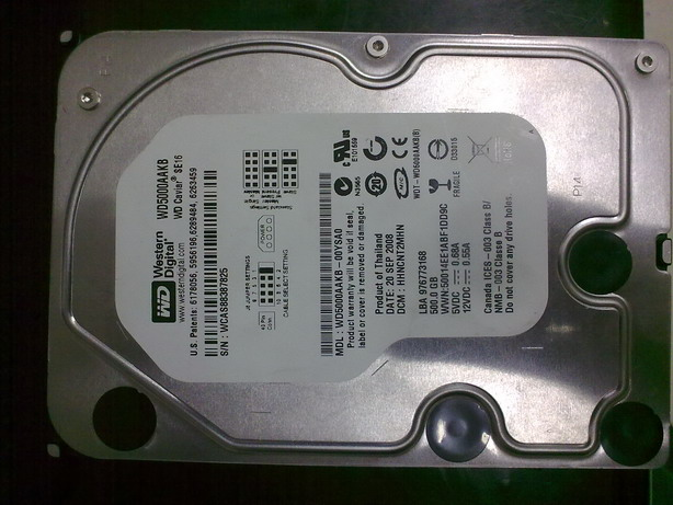 WD500G 台式机硬盘 IDE的230包邮江浙沪图片