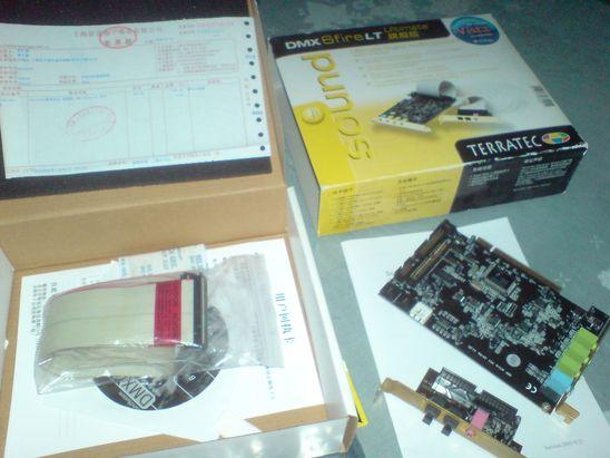 【音响】德国坦克(TerraTec)DMX 6fire LT(旗舰版)PCI声卡带子卡 - 秋韵枫斓 - 秋韵枫斓