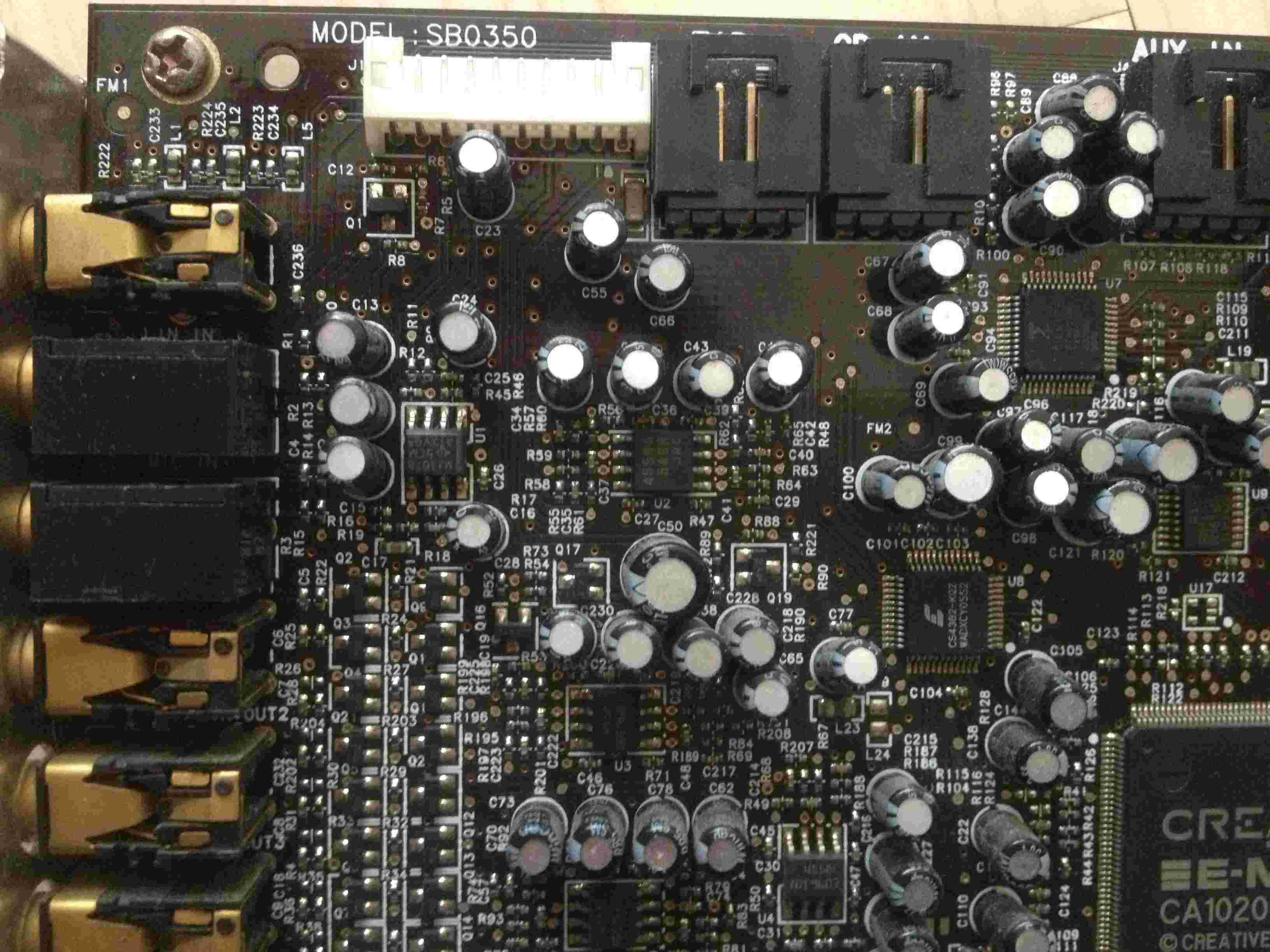一些杂物有内存、主板、声卡、联想风行机箱 内存2G D2 800的 90元一条 两条宇瞻的 一条威刚的 一条金邦的 都是好用的 (已售) 声卡创新0350 收与论坛 带原装驱动盘 具体芯片自己看 我平时就用原装驱动 64位系统可以漂游 可以KX 150元 联想锋行机箱 这个建议运费自理 太重了 带原装的航嘉电源 支持呼吸灯 机箱电源一共150元 还有一个支持AM3的华硕M4N68T全固态主板 没有挡板 只有自己剪的 价格110元 还有华硕原厂IDE数据线大概能有30条吧 每条5元 运费自理 最好10条起或