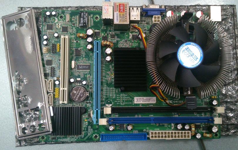 七彩虹在保G41D3 5电容E5200 包邮190图片